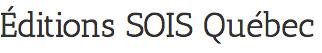 Éditions SOIS Québec Logo